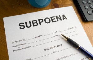 Subpoena Services in Coconut Grove